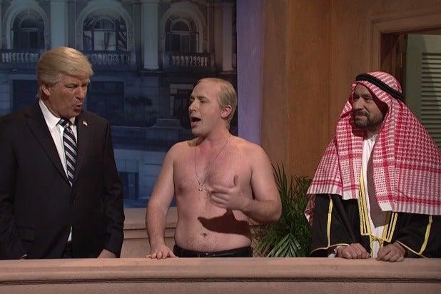 Alec Baldwin Beck Bennett Fred Armison SNL Saturday Night Live Trump Putin