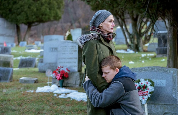 'Ben is Back' stars Julia Roberts and Lucas Hedges