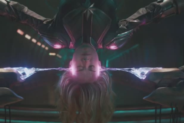Captain Marvel Trailer 2 Brie Larson Laser Surgery