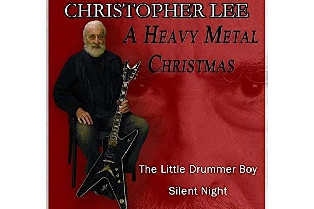 Christopher Lee Christmas Album