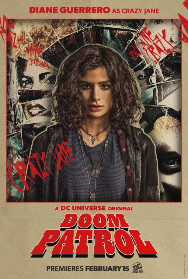 Doom patrol DC Universe Diane Guerrero Crazy Jane