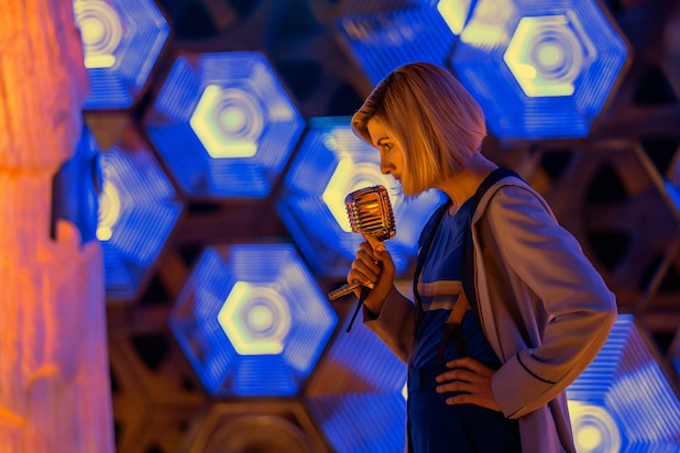 doctor who new years day special looks like jodie whittaker is about to meet the daleks video