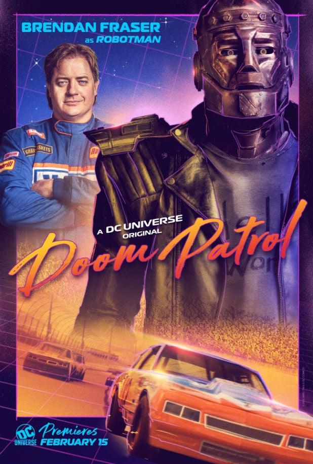 Doom Patrol DC Universe Brenden Fraser Robotman
