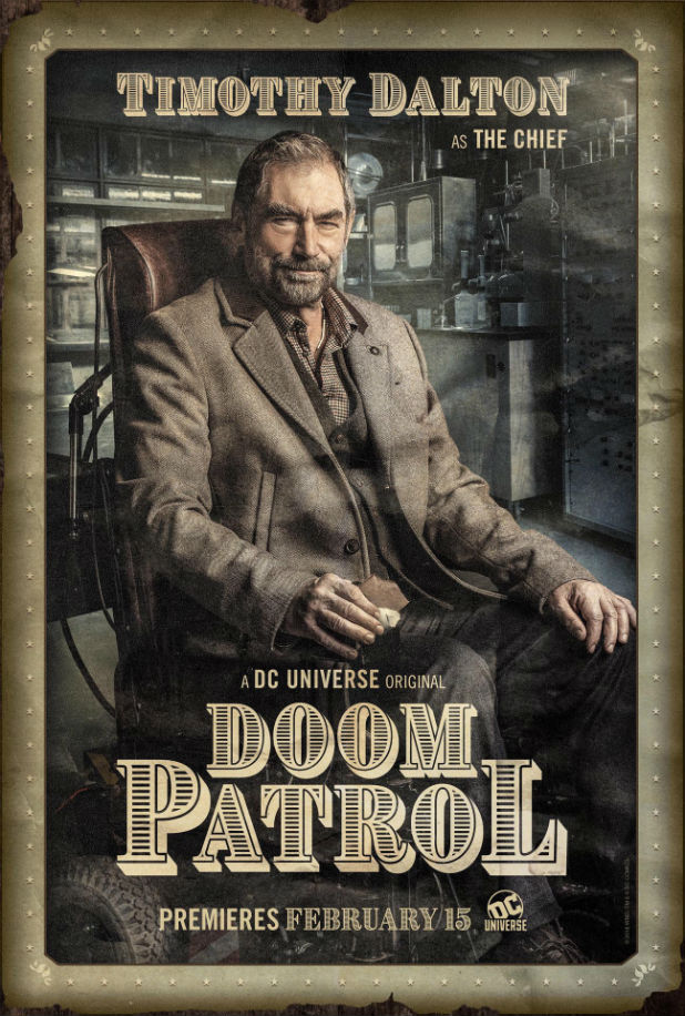 Doom Patrol Timothy Dalton The Chief