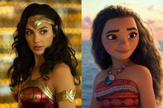 Female Led Films Wonder Woman 1984 Moana
