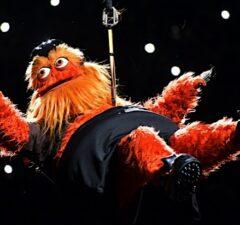 Gritty Philadelphia Flyers mascot Oscars
