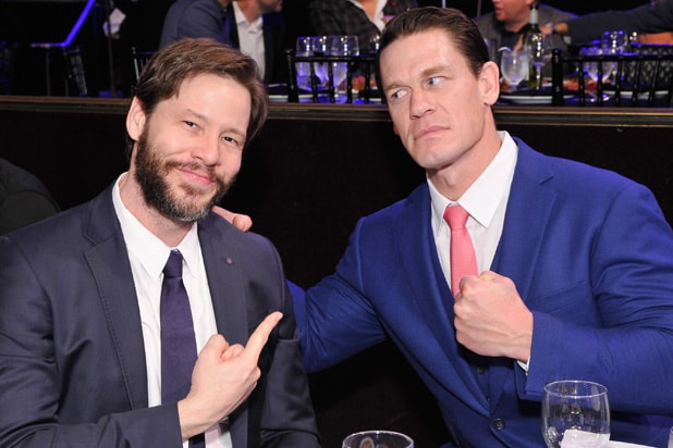 Ike Barinholtz John Cena Sports Illustrated 2018