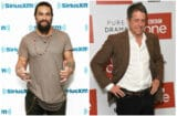 Jason Momoa and Hugh Grant