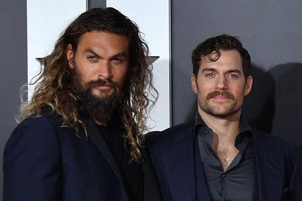 Jason Momoa Henry Cavill Aquaman Superman