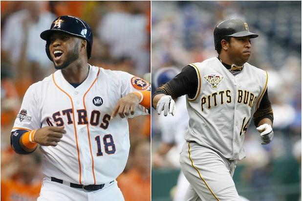 044d3ffee5e Luis Valbuena Jose Castillo. Getty Images. Former Major League Baseball ...