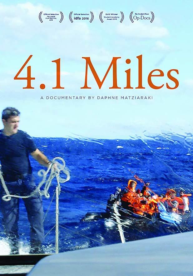 '4.1 Miles' movie poster