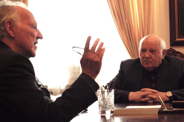 Meeting Gorbachev Werner Herzog