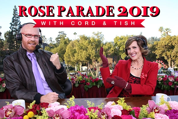 Cord & Tish Rose Parade 2019