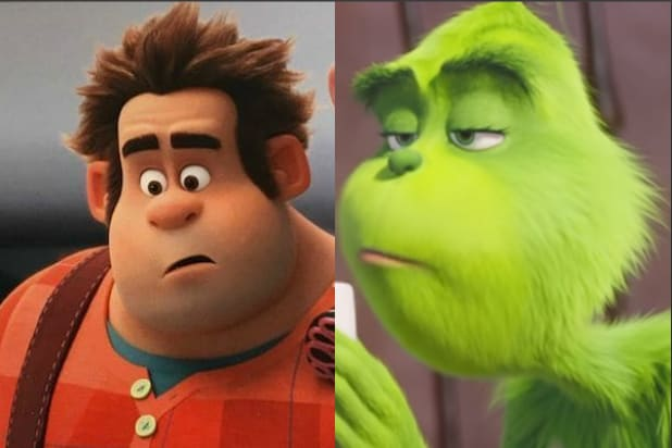 Ralph Breaks The Internet Grinch