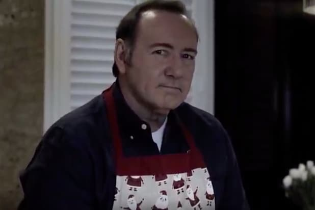 Kevin Spacey Christmas Eve Video