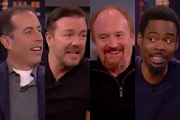 Jerry Seinfeld Ricky Gervais Louis CK Chris Rock