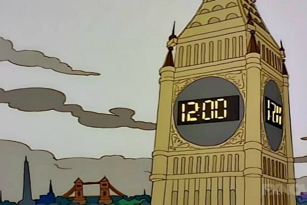 Simpsons Digital Big Ben