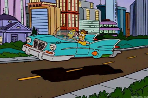 SimpsonsHover Car