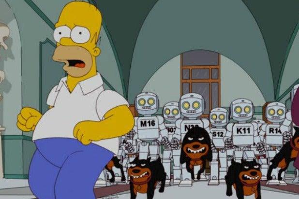 Simpsons Robots