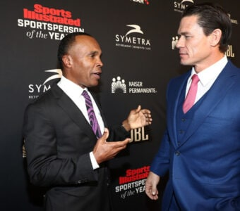 Sugar Ray Leonard John Cena Sports Illustrated 2018