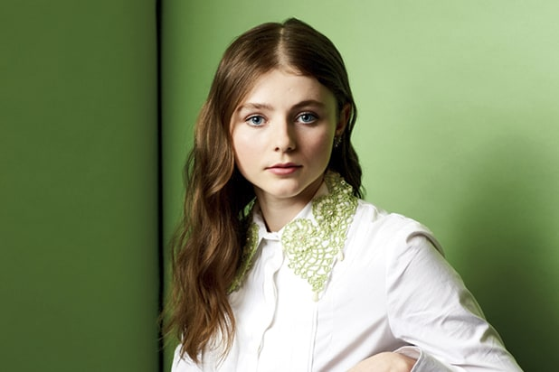 FOR MAGAZINE PURPOSES ONLY Thomasin McKenzie