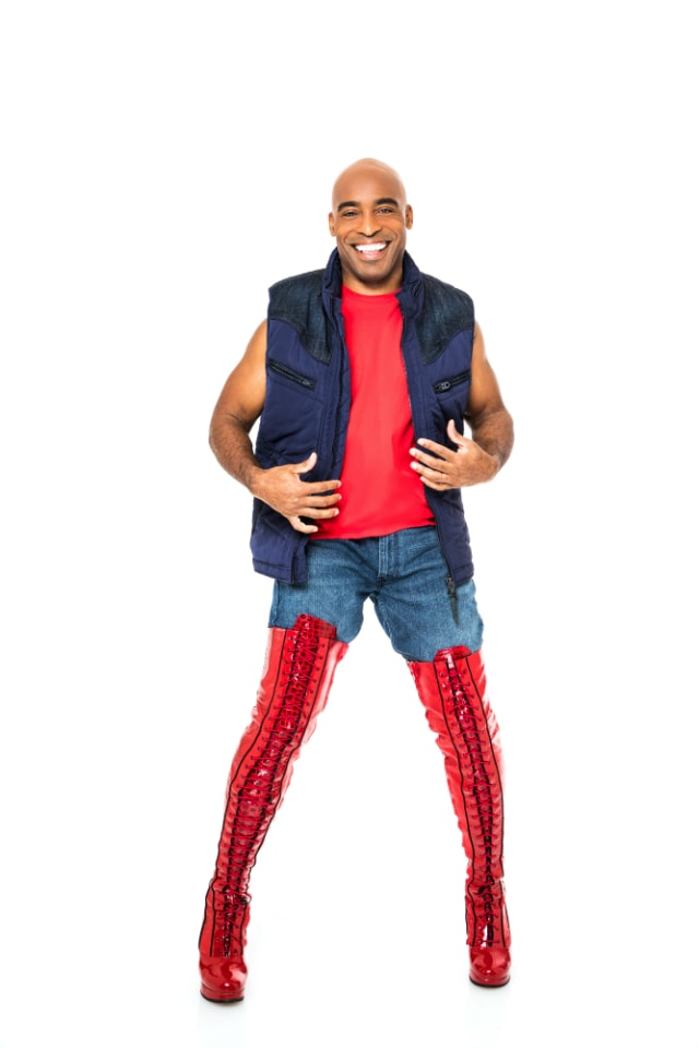 Tiki Barber in Kinky Boots