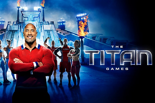 The Titan Games Dwayne Johnson