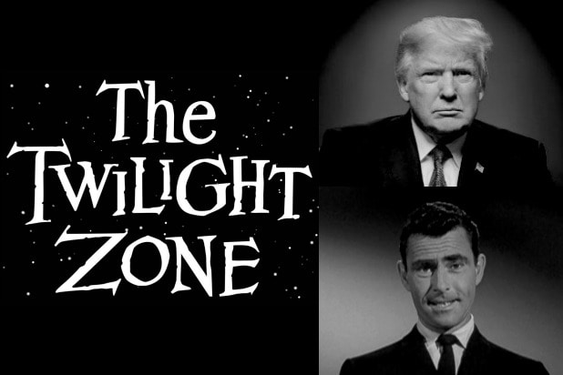 Twilight Zone Trump Rod Serling