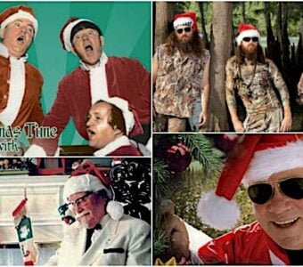 Unlikely Celeb Christmas Albums
