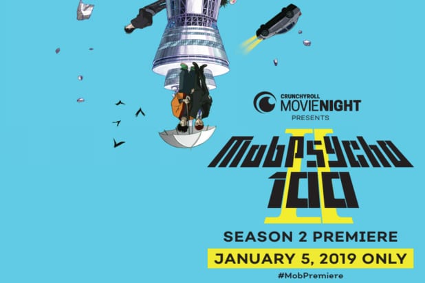 Crunchyroll's 'Mob Psycho 100' to Play in More Than 500