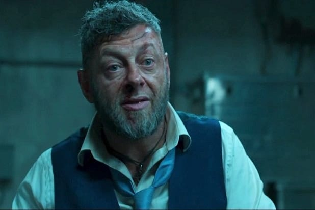 black panther trailer andy serkis klaw