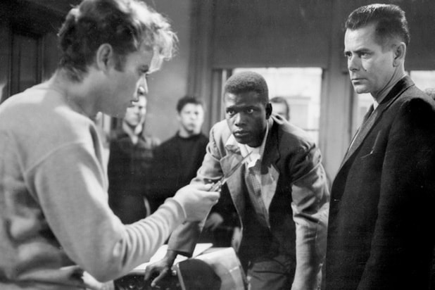 blackboard jungle sidney poitier