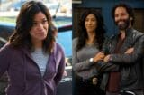 brooklyn nine nine stephanie beatriz gina rodriguez jason mantzoukas