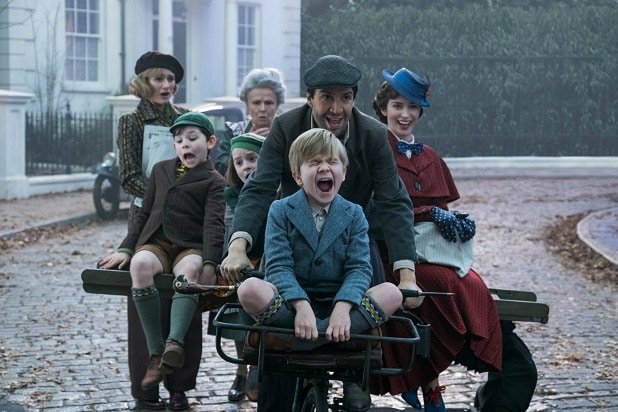 does mary poppins returns have a post credits scene