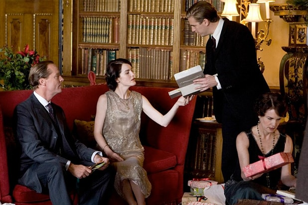 downton abbey boxing day