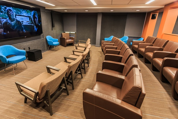Gregory House Student Film Lounge at University of Pennsylvania