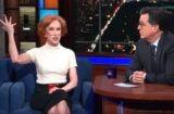 Kathy Griffin, Stephen Colbert