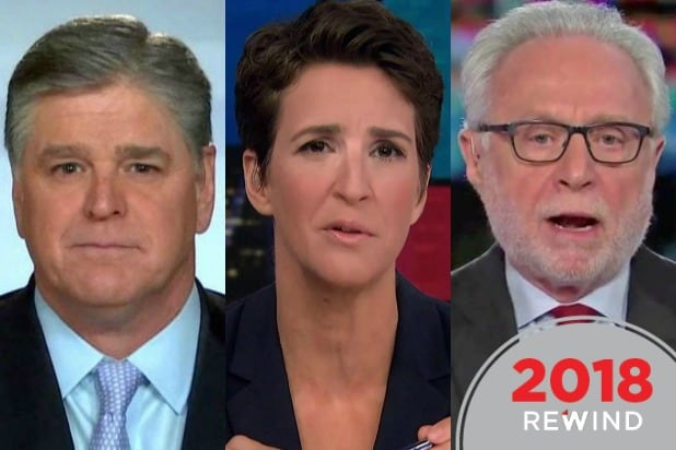 35 Top Cable News Shows of 2018: From 'Hannity' to 'The Situation Room'