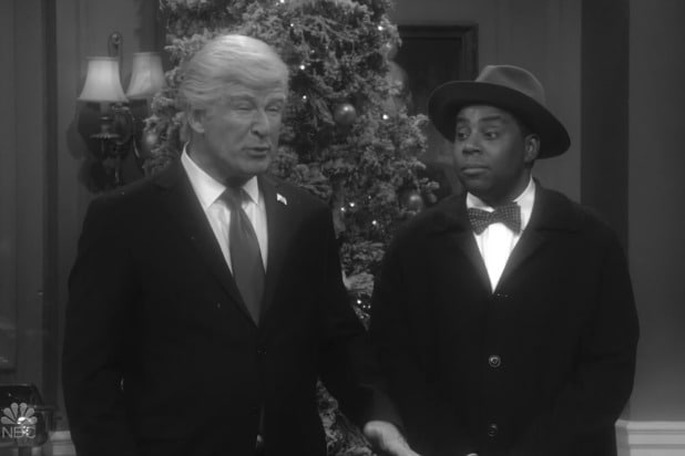 is there a new snl this week saturday night live alec baldwin donald trump it's a wonderful life parody