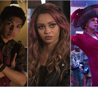 Chance Perdomo in Sabrina, Vanessa Morgan in Riverdale and Hailie Sahar in Pose