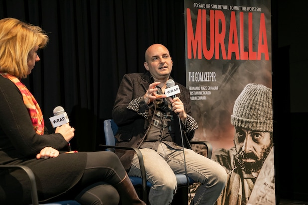 """Muralla"" screening and Q&A with with director Gory Patino."
