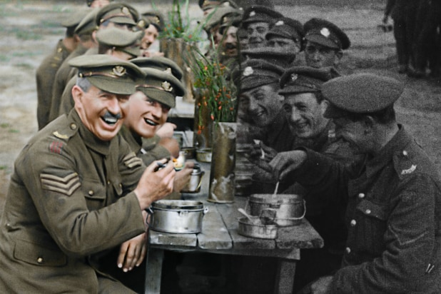 'They Shall Not Grow Old' Film Review: Peter Jackson's Doc Brings WWI to Vivid Life