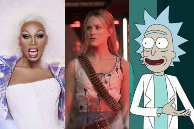 rupaul drag race westworld rick and morty