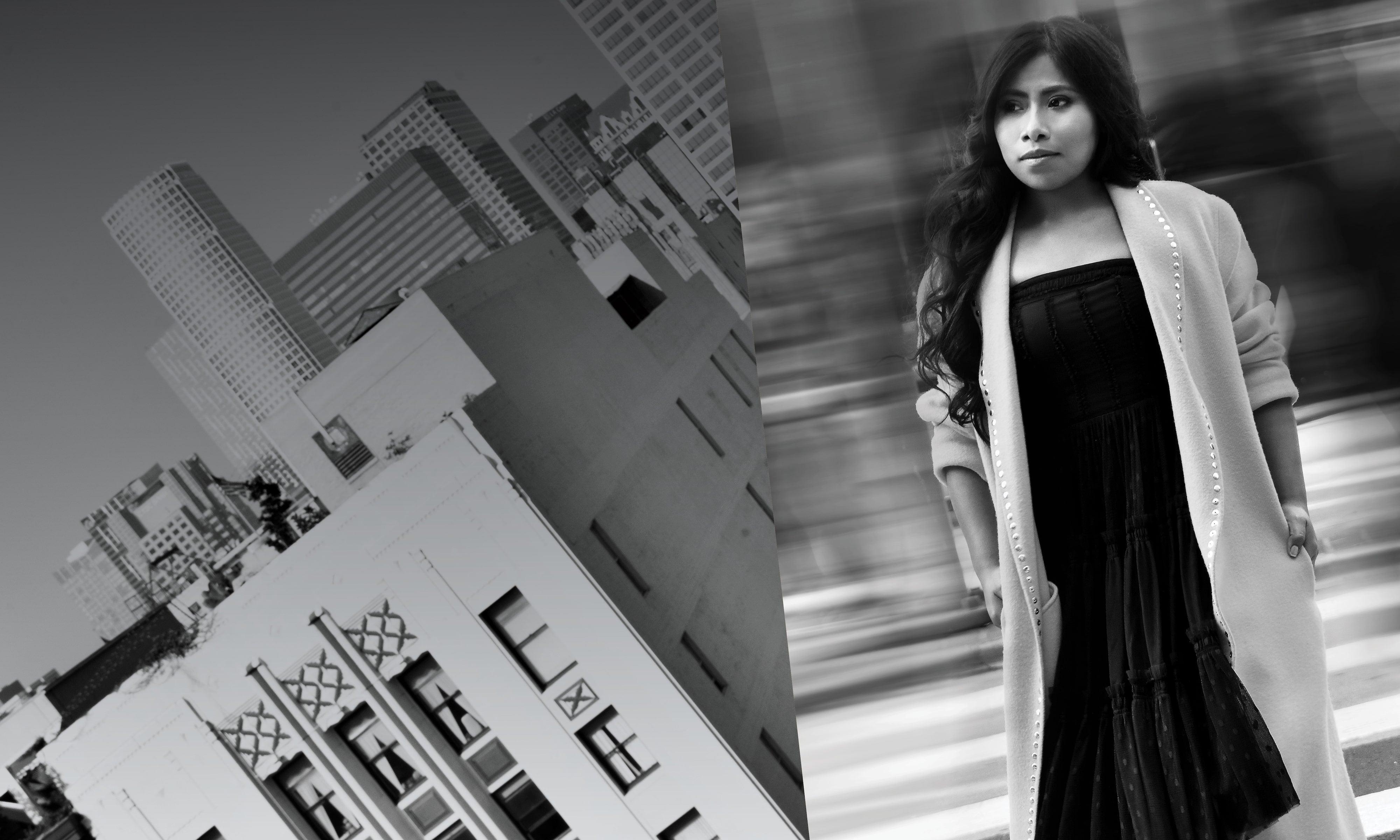 """""""Roma"""" star Yalitza Aparicio"""