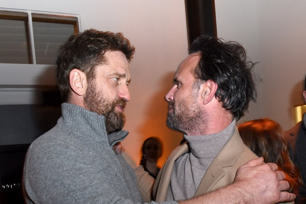 "Gerard Butler Walton Goggins DIRECTV Lodge Presented By AT&T Hosted ""Them That Follow"" Party At Sundance Film Festival 2019"
