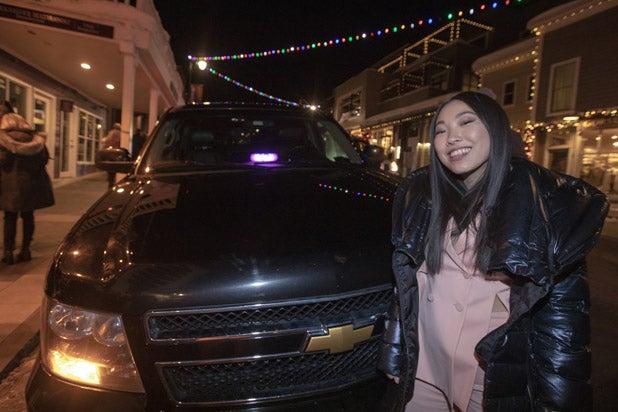 PARK CITY, UTAH - JANUARY 26: Awkwafina on January 27, 2019 in Park City, Utah.
