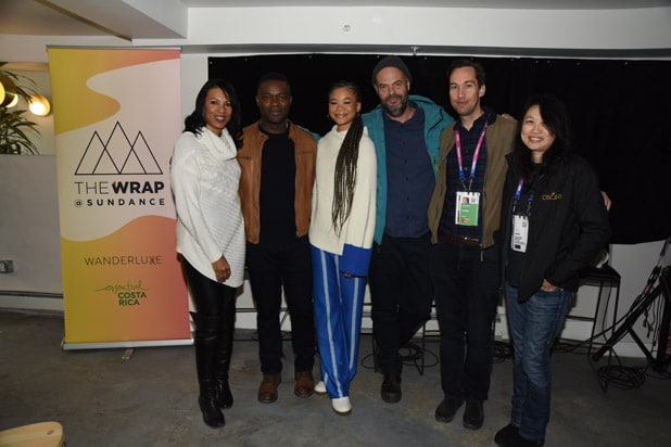 David Oyelowo Storm Reid Jacob Estes Relive #2 The Wrap at Sundance credit Lilly Lawrence