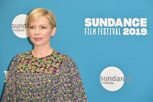 "PARK CITY, UT - JANUARY 24: Michelle Williams attends the ""After the Wedding"" Premiere during the 2019 Sundance Film Festival at Eccles Center Theatre on January 25, 2019 in Park City, Utah."