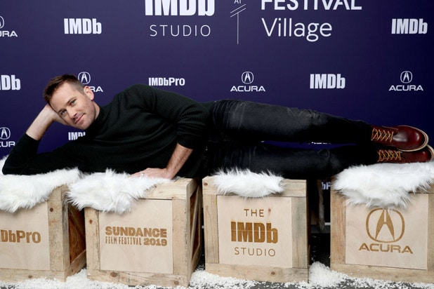 Armie Hammer wounds The IMDb Studio At Acura Festival Village On Location At The 2019 Sundance Film Festival - Day 2