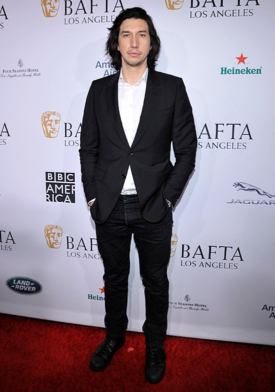 Adam Driver BAFTA Tea Party